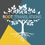 Logo Root Translations, traduction anglais français et relecture